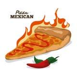 Pizza design. Royalty Free Stock Photo