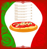 Pizza design template Royalty Free Stock Image
