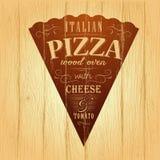 Pizza design template Stock Photos