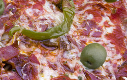 Pizza Detail Royalty Free Stock Image