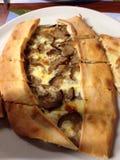 Pizza di Döner Fotografia Stock