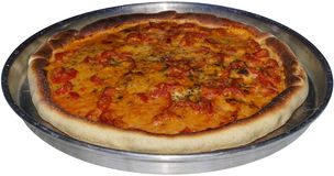 Pizza di Kamut Fotografia Stock