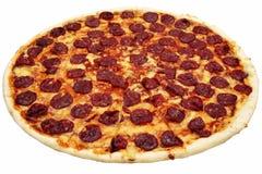 Pizza di merguez Immagini Stock Libere da Diritti