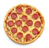 Pizza di recente cotta Fotografia Stock Libera da Diritti
