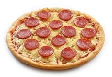 Pizza di recente cotta Fotografia Stock