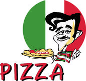 Pizza di SERIE di JOB   illustrazione vettoriale