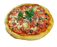 Pizza Diabola Stock Photography