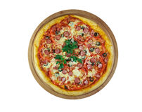 Pizza Diabola Royalty Free Stock Photo