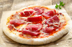 Pizza Diavolo Stock Images