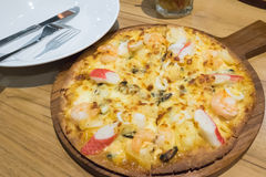 A pizza dilui Imagem de Stock