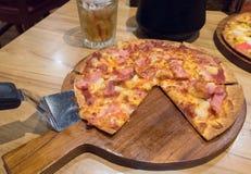 A pizza dilui Fotografia de Stock