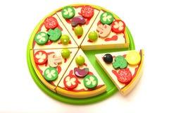 Pizza do brinquedo Imagens de Stock