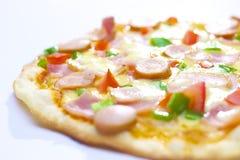 Pizza do fogão Imagem de Stock Royalty Free