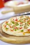 Pizza do fogão Imagem de Stock