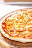 Pizza do fogão Fotografia de Stock