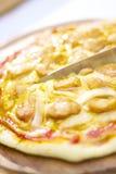Pizza do fogão Foto de Stock
