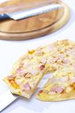 Pizza do fogão Imagens de Stock