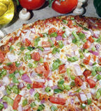 Pizza do vegetariano Imagens de Stock Royalty Free