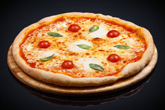 Pizza Donna Margarita royalty-vrije stock afbeeldingen