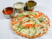 Pizza dosa Stock Photo