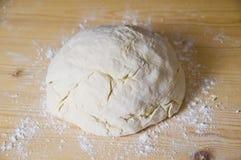 Pizza dough. One ball of freshly made pizza dough Royalty Free Stock Photos