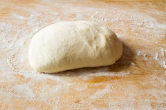 Pizza dough Royalty Free Stock Image