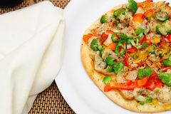 pizza du gourmet un Photos libres de droits