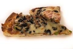 Pizza einzeln aufgeführt Stockbilder