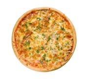 Pizza en Italiaanse keuken Stock Foto's