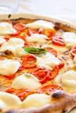 Pizza en Nápoles Foto de archivo