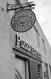Pizza express shop Royalty Free Stock Photography