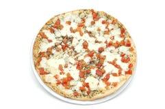 pizza för margherita 6 Fotografering för Bildbyråer