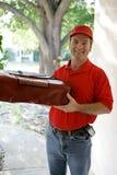 Pizza für Sie Stockfotografie