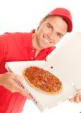 Pizza für Sie Stockfotos