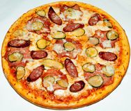 Pizza, fast food Royalty Free Stock Photography