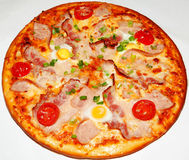 Pizza, fast food Royalty Free Stock Photos