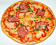 Pizza, fast food Stock Image