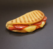 Pizza-flaches Brot Lizenzfreies Stockbild