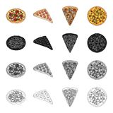 Pizza food treats  Royalty Free Stock Photos