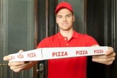 Pizza für Sie Lizenzfreie Stockfotos