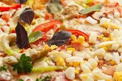 Pizza fraîche Image libre de droits