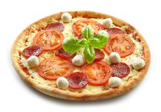 Pizza frais cuite au four Photo libre de droits
