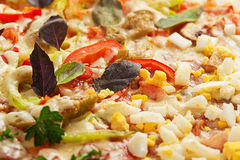 Pizza fresca Imagem de Stock Royalty Free
