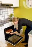 Pizza fresca Imagen de archivo