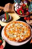 Pizza Frutti di Mare Royalty Free Stock Photos