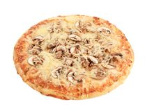 Pizza Funghi Foto de Stock Royalty Free