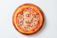 Pizza Fungi Royalty Free Stock Images