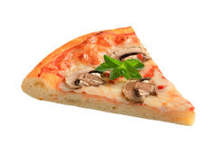 Pizza Fungi Royalty Free Stock Photography