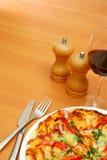 Pizza gastrónoma Imagenes de archivo