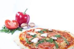 Pizza-Gemüse Lizenzfreies Stockfoto
